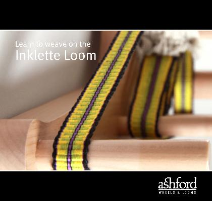 Ashford Learn to Weave on the Inklette Loom (Booklet)