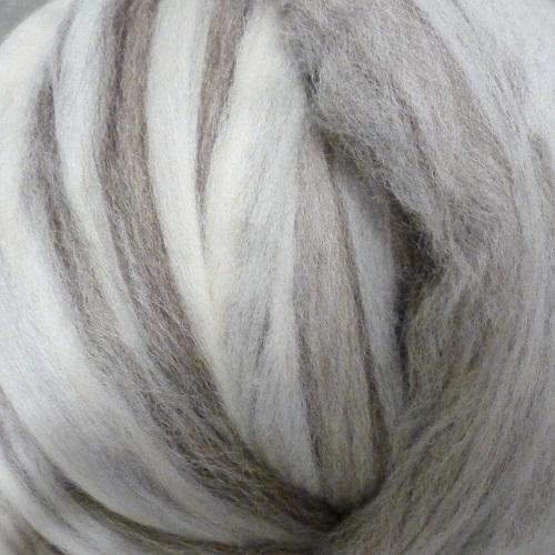 Ashland Bay Natural Mixed Blueface Leicester (BFL) Roving