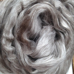 Foxglove Yak and Cultivated Silk Fiber