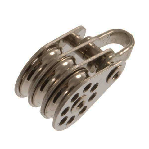 Lite Series Triple 10mm Block with Shackle