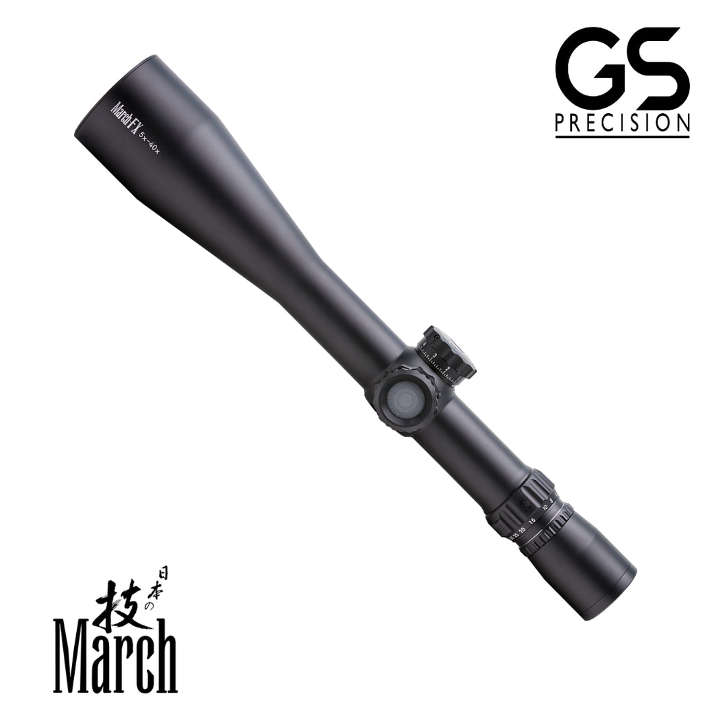 March 5x-40x56 Rifle Scope