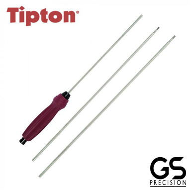 Tipton Deluxe 3 Piece Stainless Steel Cleaning Rod .22 Cal