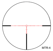 March 1x-10x24 Rifle Scope