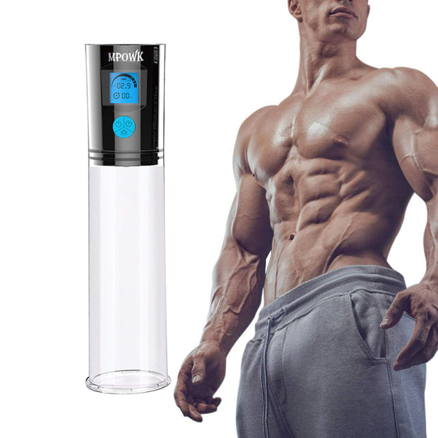 Male Penis enlargement erection training penis extender automatic electric vacuum penis pump