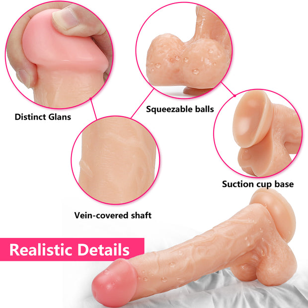 Huge Penis Man Dildo Toy|Big Artificial Realistic  Dildo  for Women Vagina