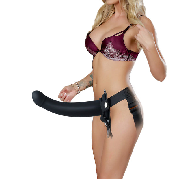 Wear Penis G Point Cow Leather realistic soft sex toy Strap On Dildo