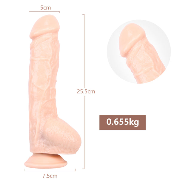 Adult Toys 10 Inch Huge Realistic Dildo With Strong Sucker Dildo for Women