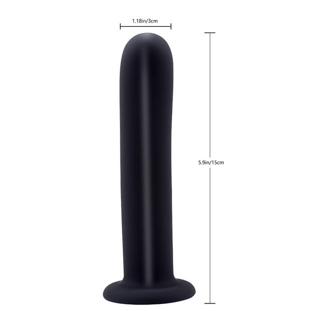 New 5.9'' Silicone waterproof Penis Masturbation wearing dildo for women