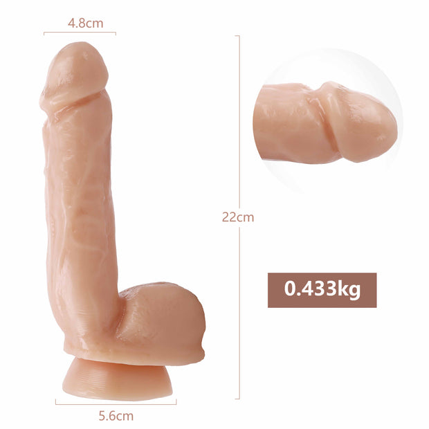 Realistic Huge Suction Cup Dildo|Sex Toy Artificial Penis For Women