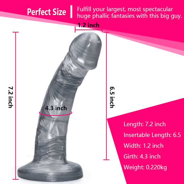 7 Inch Ultra Realistic Suction Cup Dildo| Artificial Penis G-spot  Sex Toy For Women