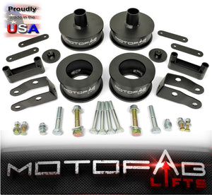 "3"" Front 3"" Rear Full Lift Kit with Shock Extenders 07-18 Jeep Wrangler"