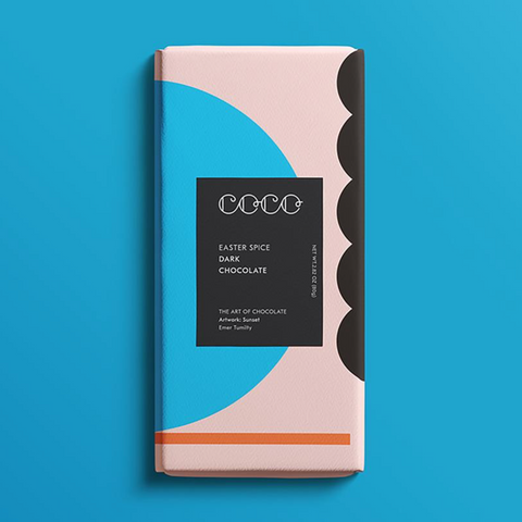 Coco Easter Spice Dark Chocolate