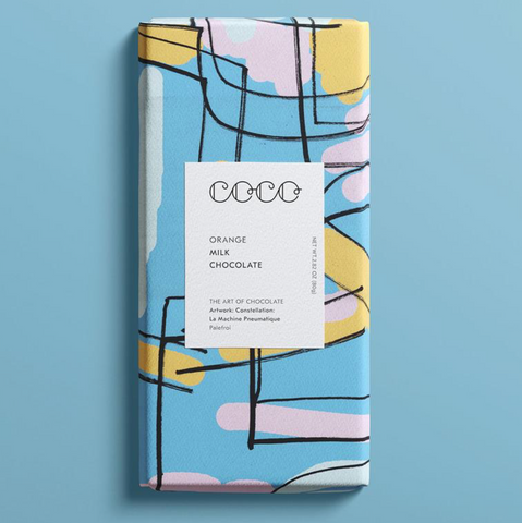 Coco Orange Milk Chocolate
