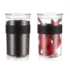 Bodum Presso Storage Jar 1 litre (set of 2)