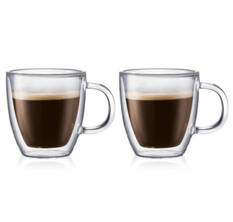 Bodum Bistro Double Wall Thermo-glass Espresso Cup (set of 2)