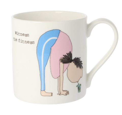 Mclaggan Smith Witness the Fitness Mug