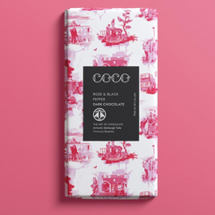 Coco Rose & Black Pepper Dark Chocolate