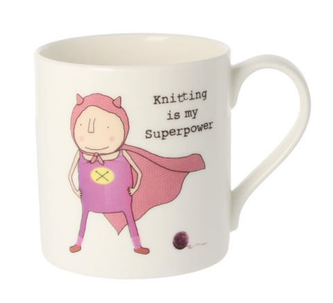 Knitting is my Superpower Mug