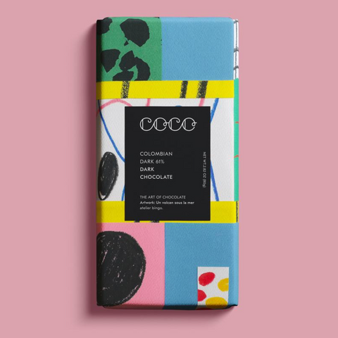 COCO Colombian 61% Dark Chocolate