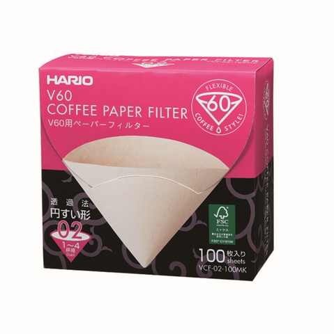 Hario V60 Filter Papers 02