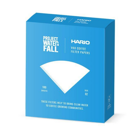Hario V60 Filter Papers 02 Project Waterfall