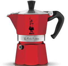 Bialetti Stove Top Espresso Pot - Red