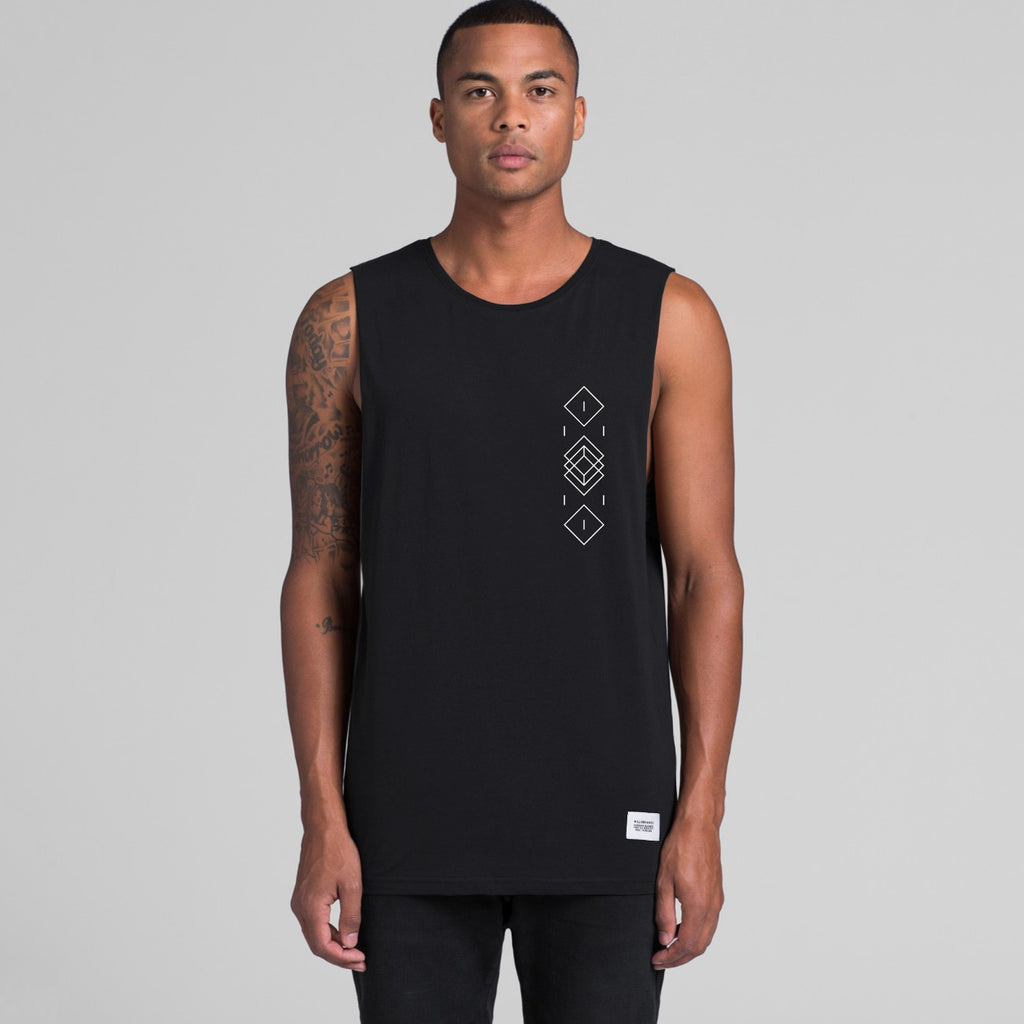 Drumcode No Defeat No Retreat Double-Sided Tank