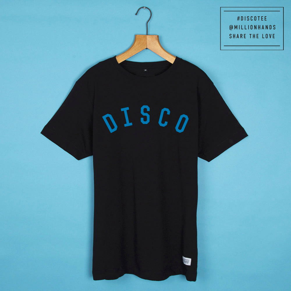 #DiscoTee Midnight Aqua