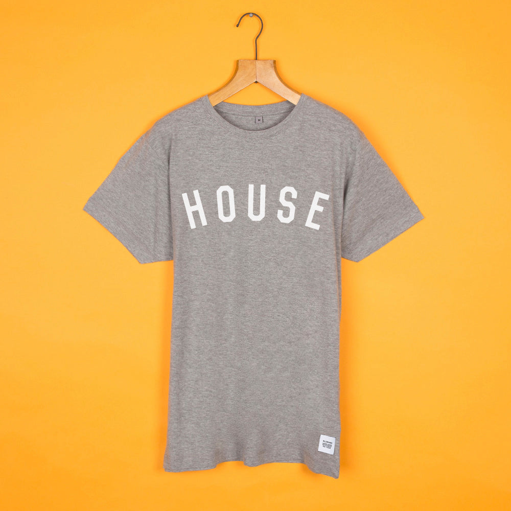 #HouseTee Grey