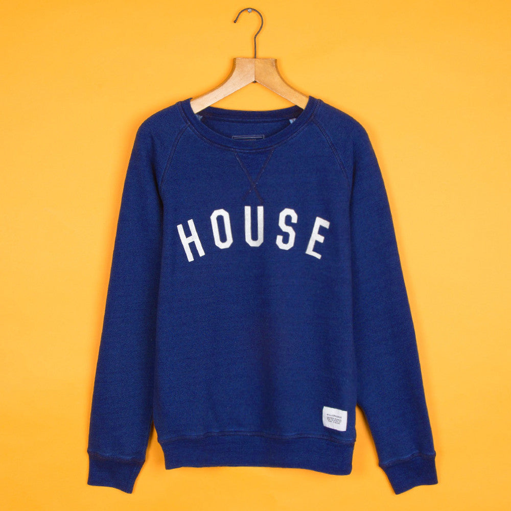 #HouseSweat Deep Navy Marl Silver