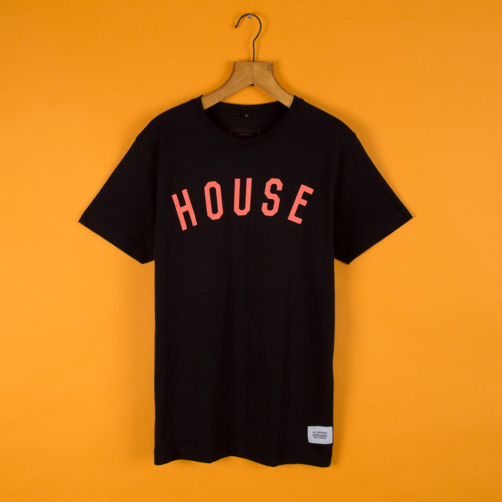 #HouseTee Lava Black