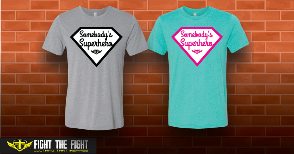 New Somebody's Superhero Tees!