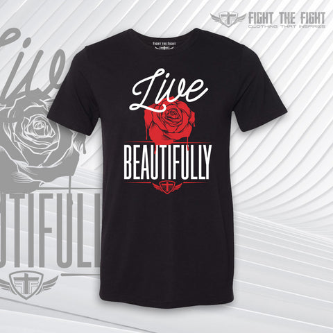 Live Beautifully Tee