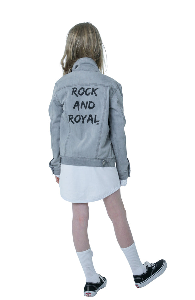 L'IL SISTA 2 ROYAL STREETWEAR LENNON DENIM JACKET