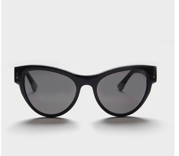 YUNIZON EYEWEAR VAMP MEDIUM JET BLACK