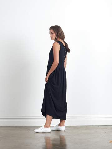 CLE THE LABEL MARA MAXI DRESS BLACK
