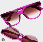 YUNIZON FESTIV FUSCHIA SUNGLASSES