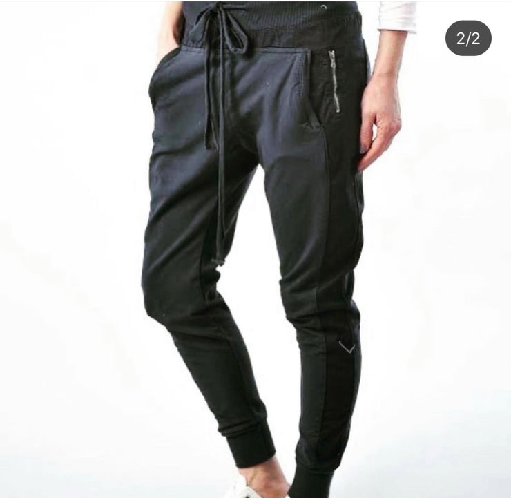 SUZY D LONDON ULTIMATE JOGGERS CHARCOAL