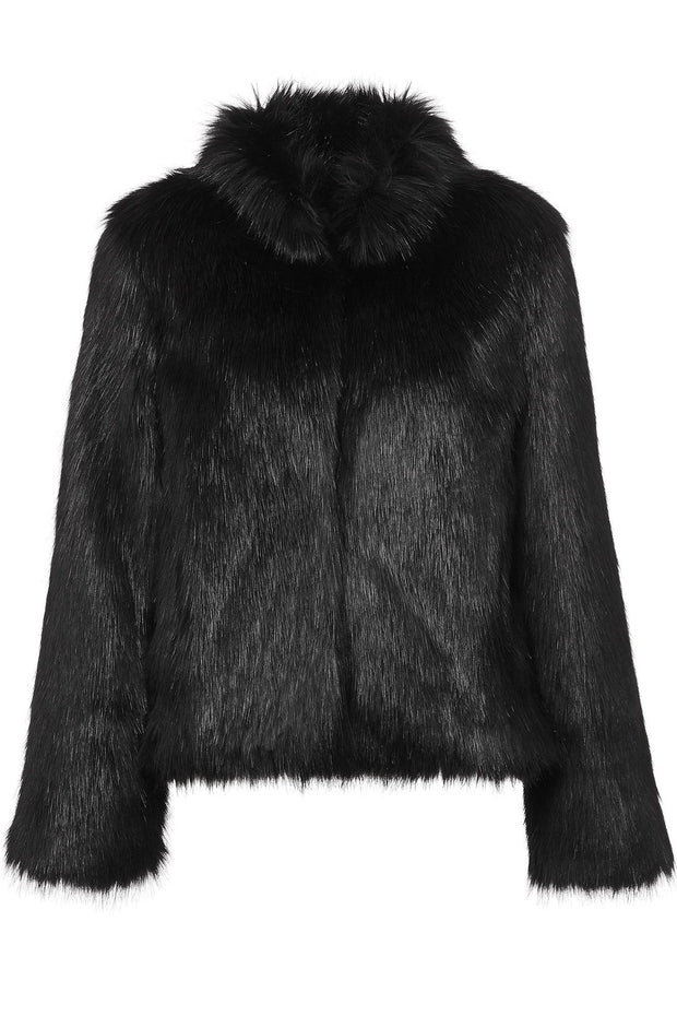 UNREAL FUR FUR DELISH JACKET BLACK