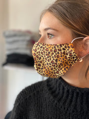 LADIES LEOPARD FACEMASK
