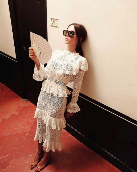 My Ex Lover Zimmermann Castile Dress
