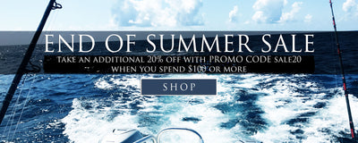 End Of Summer Sale take an additional 20% off when you spend $100 or more, enter promo code sale20 at checkout