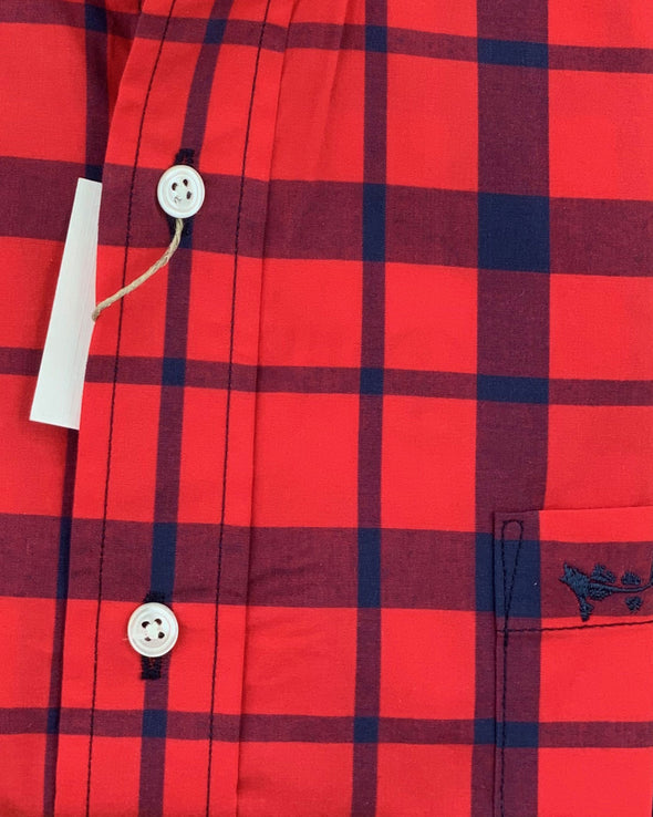 Coastal Cotton Clothing - Wovens - Red Plaid