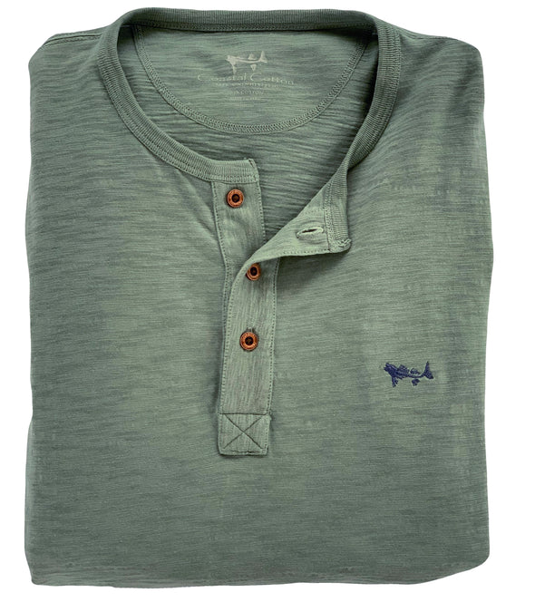 Coastal Green Henley