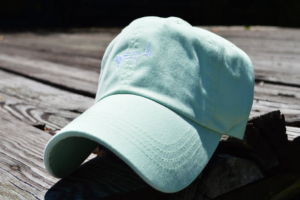 Coastal Cotton Clothing - Hats - Seafoam Signature Cap