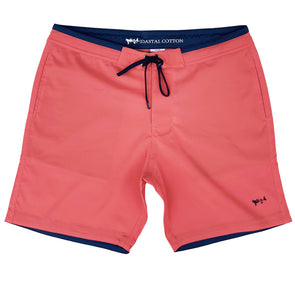 Spice Coral Stretch Board Short