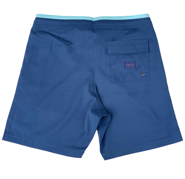 Indigo Stretch Board Short