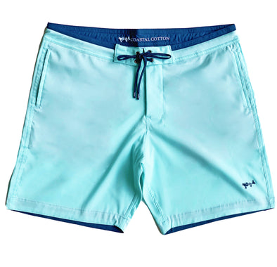 Island Blue Stretch Board Short