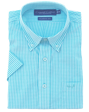 Coastal Cotton Clothing - Sport Shirt - Bay Stretch Slim Fit