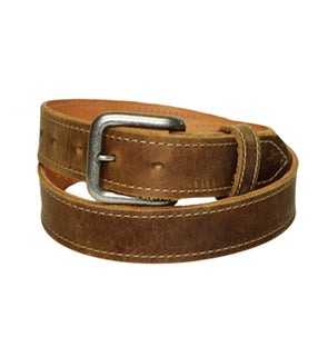 Coastal Cotton Clothing - American Made Belts - Classic Bison Leather Belt